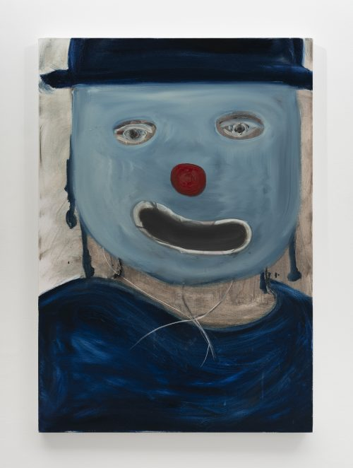Untitled (Blue Mask, Red Nose)